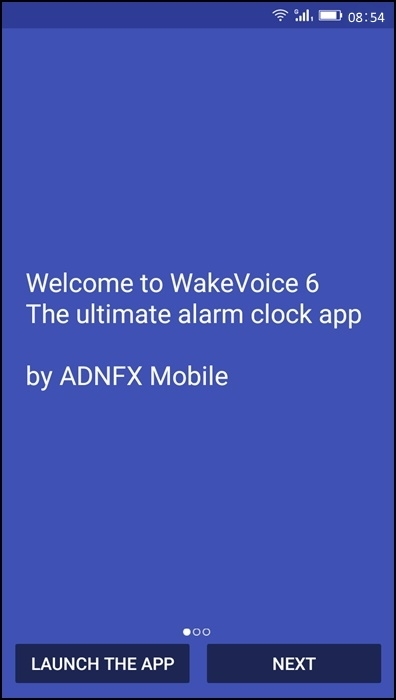 Stop Morning Android Alarm Clock With Voice