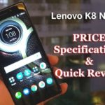 Lenovo K8 Note :Exclusive launch on 18 august at 12 PM