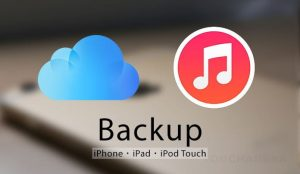 back up iPhone or iPad using iTunes