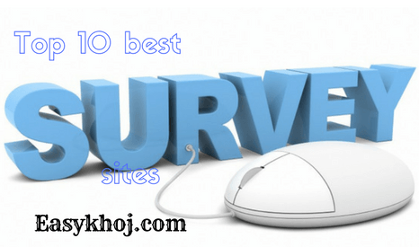 10 best survey sites to make money online without investment