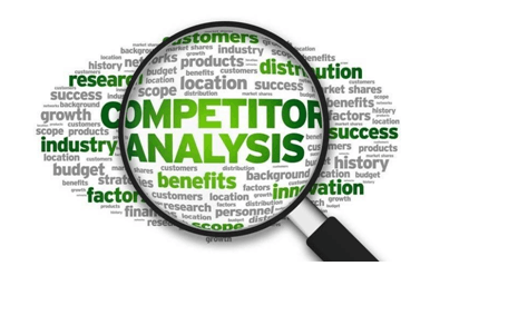 Analyze competitors keyword