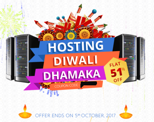 Bluehost Diwali Dhamaka Sale – Upto 51% off on Hosting