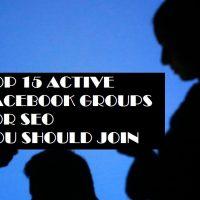 15 Facebook SEO groups