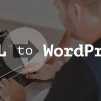 HTML Website to Wordpress Website
