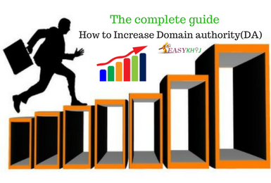 5 tips to increase domain authority (DA) of your website