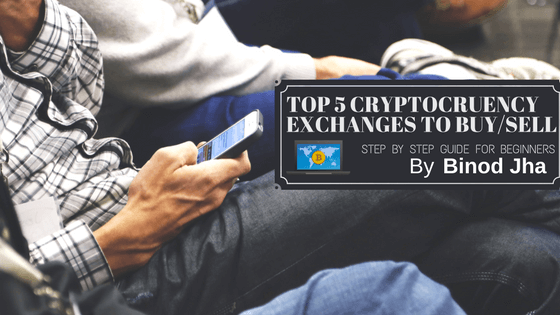 Top 5 Best Cryptocurrency Exchanges to buy/sell Altcoins