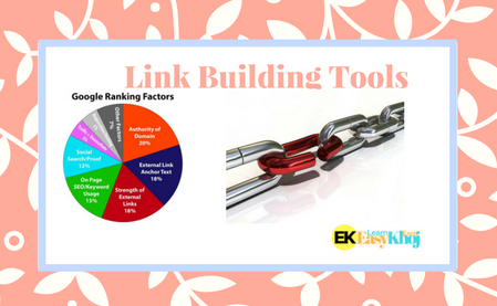 Top 15 free Link Building Tools for SEO ranking in 2018
