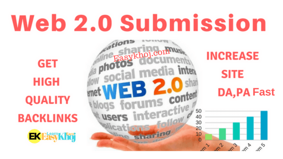 Top 350+High PR Do follow Web 2.0 submission sites list 2018