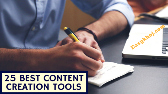 25 Best Content Creation Tools to Improve Writing Skills Fast
