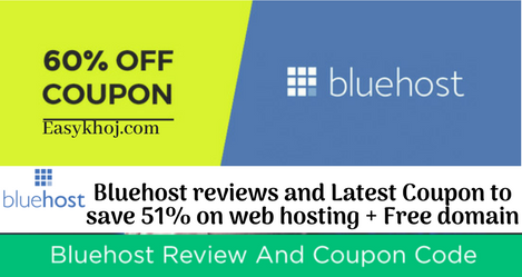 Bluehost coupon India