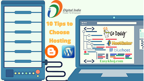 5 Tips to Choose Best Web Hosting Providers in India 2018
