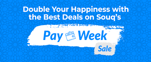 Double your Happiness with the Best Deals on Souq's Pay Week Sale | Ramadan Special