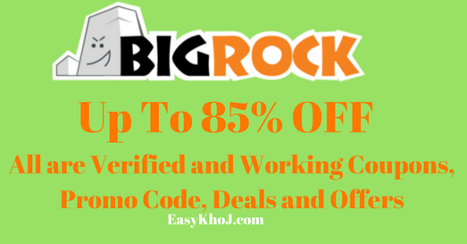 BigRock Promo Code | BigRock Coupons India -Off up to 85% On Hosting & Domain Renewals