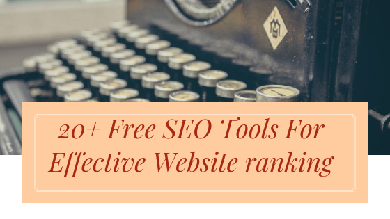 free seo tools, Best free seo tools