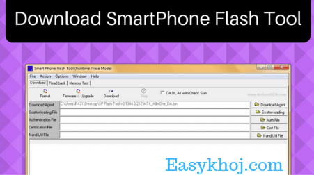 sp flash tool, smart phone flash tool