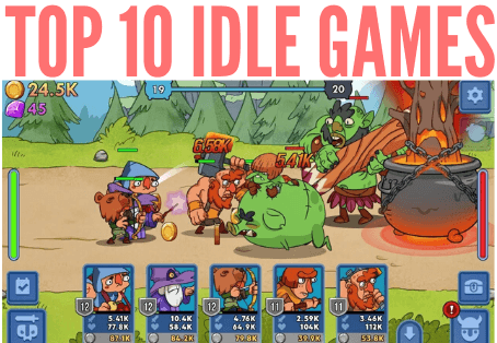 idle games, clicker games