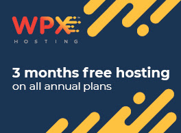 3 months free WPX hosting