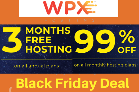 WPX hosting coupon, WPX hosting Black friday 2019