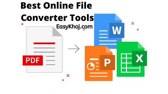 Best Online File Converter Tools