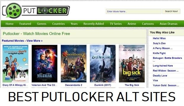 Putlocker – Watch Movies Online free & Safe