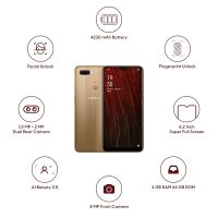 OPPO A5S (Gold, 4GB RAM, 64GB Storage)