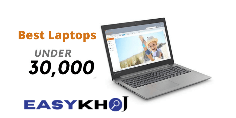 10 Best Laptops Under 30000 Rs in India (2020)