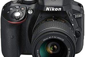 Nikon D5300 24.2MP Digital SLR Camera (Black)