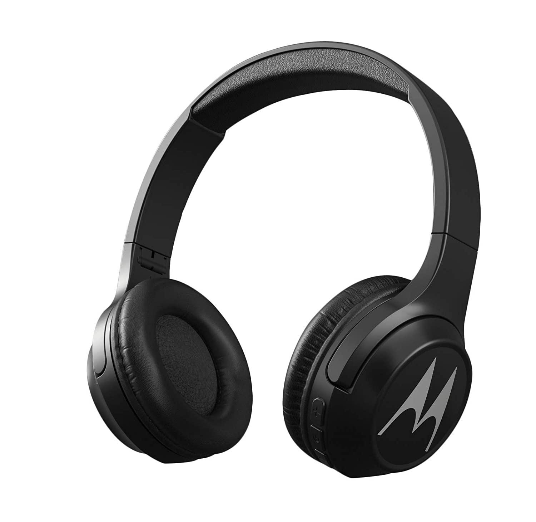 Motorola Escape 210 Over-Ear Bluetooth Headphones with Alexa