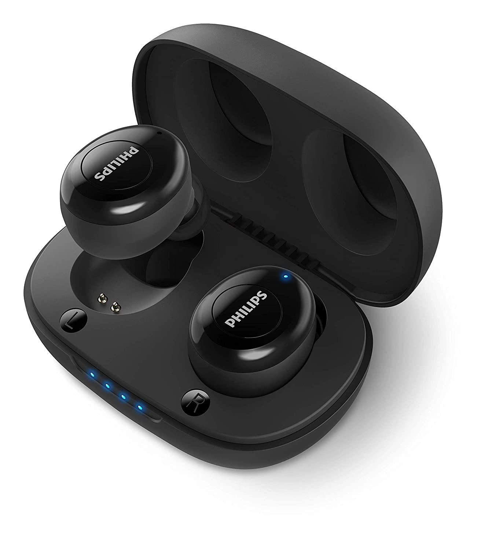 Philips UpBeat TAUT102BK True Wireless (TWS) Bluetooth Earbuds