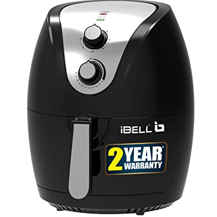 iBELL AF25BS 2.5 Litre 1400W Crispy Air Fryer