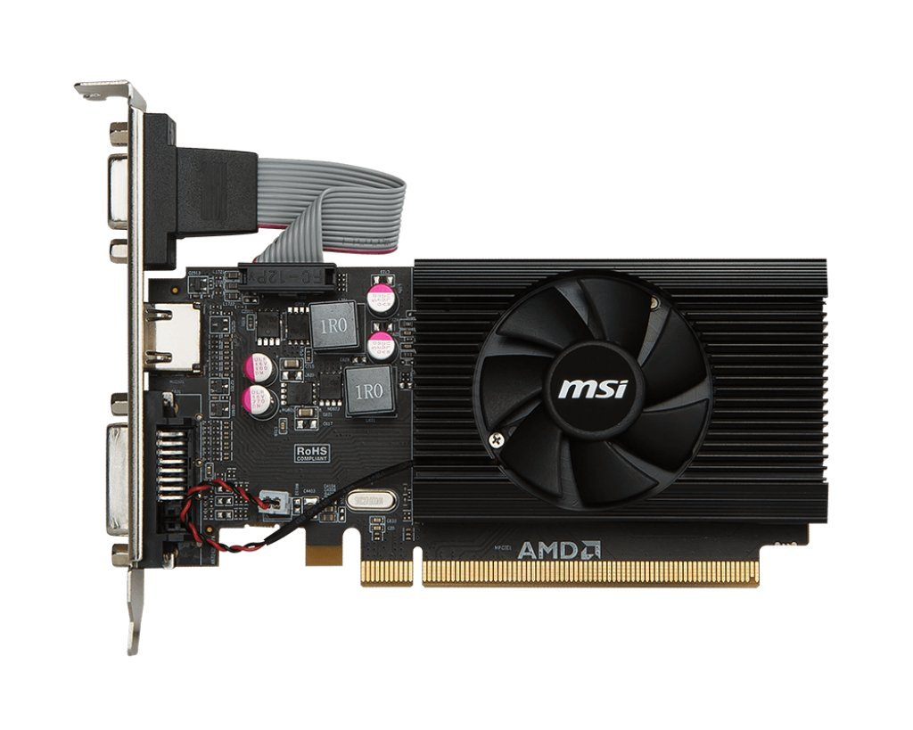 MSI R7 240 2GD3 LP Radeon 240 Graphic Card